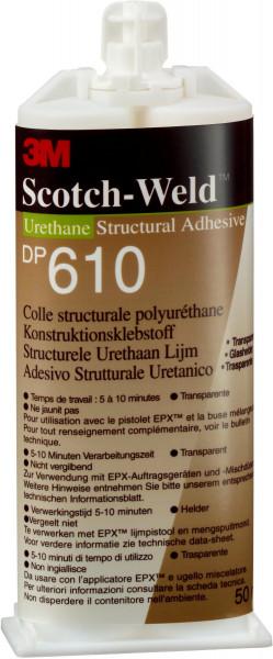Artikelbild des Artikels 3M™ Scotch-Weld™ 2-Komponenten-Konstruktionsklebstoff auf Polyurethanbasis für das EPX-System SW DP 610, Klar