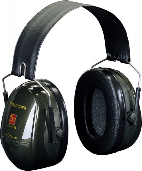 Artikelbild des Artikels 3M™ Peltor™ Optime™ II Kapselgehörschutz H520F, faltbares Band, 31 dB, Grün