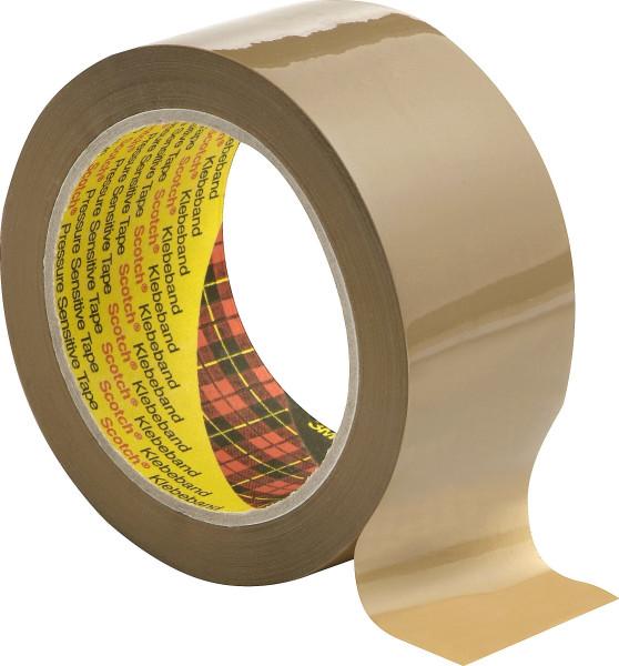 Artikelbild des Artikels Scotch® Verpackungsklebeband 3707, Braun, 100 mm x 66 m, 0,055 mm