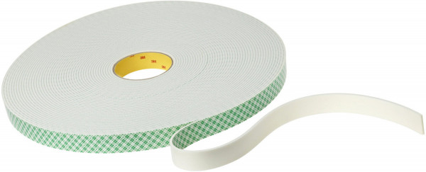 Artikelbild des Artikels 3M™ Scotchmount™ Doppelseitiges Klebeband mit Polyethylen-Schaumstoffträger 4008, Beige, 19,1 mm x 33 m, 3,2 mm