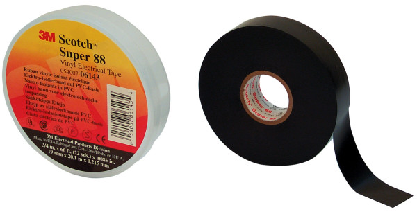 Artikelbild des Artikels Scotch® Vinyl Elektro-Isolierband Super 88 19 mm x 20 m