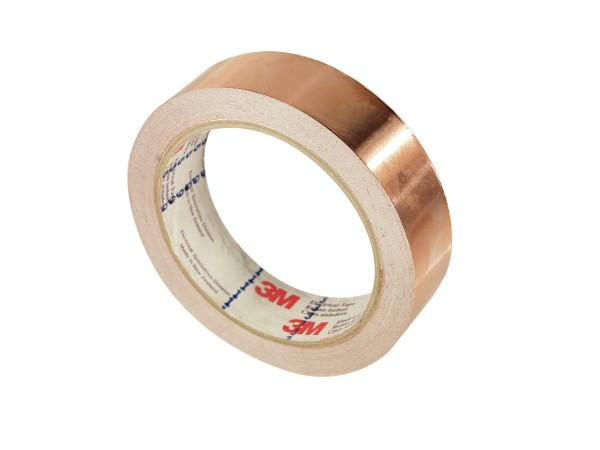Artikelbild des Artikels 3M™ 1181 EMV-Kupfer-Abschirmband leitfähig, 38 mm x 16,5 m