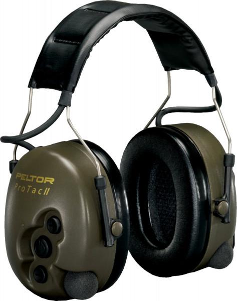 Artikelbild des Artikels 3M™ Peltor™ ProTac II Impuls-Kapselgehörschutz PTAC2G, Kopfbügel, 32 dB, Grün