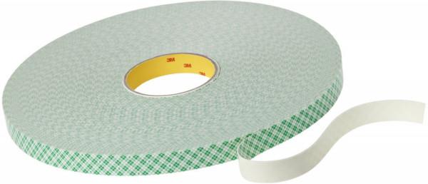 Artikelbild des Artikels 3M™ Scotchmount™ Doppelseitiges Klebeband mit Polyethylen-Schaumstoffträger 4032, Beige, 12 mm x 66 m, 0,8 mm