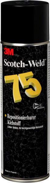 Artikelbild des Artikels 3M™ Scotch-Weld™ Sprühklebstoff auf Basis Synthetischer Elastomere, Klar, 500 ml SW 75, Farblos