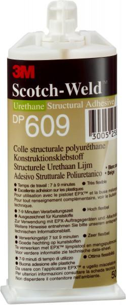Artikelbild des Artikels 3M™ Scotch-Weld™ 2-Komponenten-Konstruktionsklebstoff auf Polyurethanbasis für das EPX-System SW DP 609, Beige