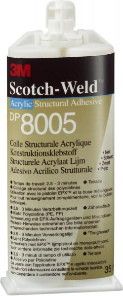Artikelbild des Artikels 3M™ Scotch-Weld™ 2-Komponenten-Konstruktionsklebstoff auf Acrylatbasis für das EPX-System SW DP 8005, Schwarz
