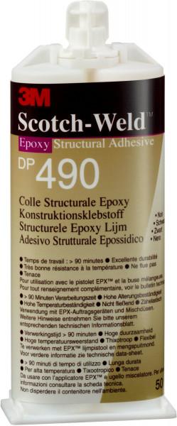 Artikelbild des Artikels 3M™ Scotch-Weld™ 2-Komponenten-Konstruktionsklebstoff auf Epoxidharzbasis für das EPX-System SW DP 490, Schwarz