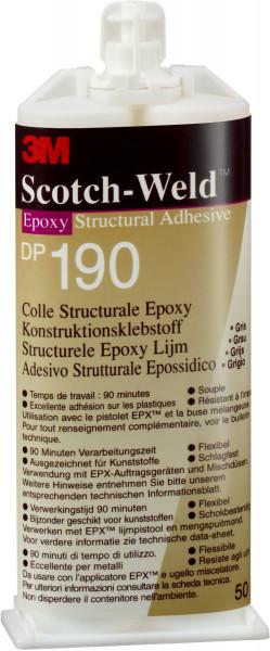 Artikelbild des Artikels 3M™ Scotch-Weld™ 2-Komponenten-Konstruktionsklebstoff auf Epoxidharzbasis für das EPX-System SW DP 190, Grau
