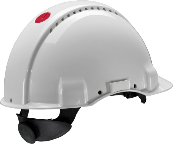 Artikelbild des Artikels 3M™ Schutzhelm mit Uvicator Sensor - 440 Volt G3001 G31NUW, Weiß, Ratschen-Verschlusssystem