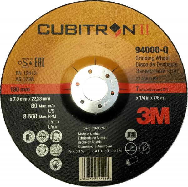 Artikelbild des Artikels 3M™ Cubitron™ II Schruppscheibe 2.Generation