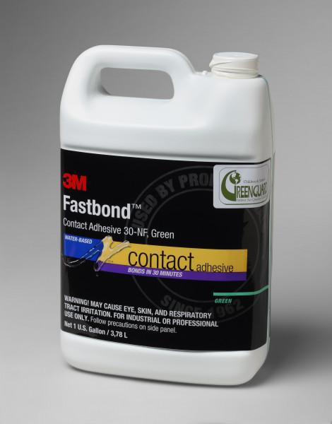 3M™ Fastbond™ Dispersionsklebstoff auf Polychloroprenbasis 30NF, Transparent, 20 L